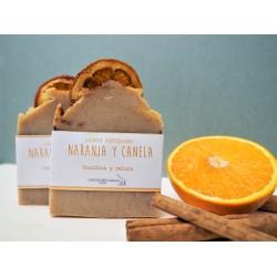 Jabón artesano naranja y...