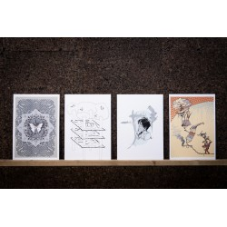 Pack 4 serigrafías...